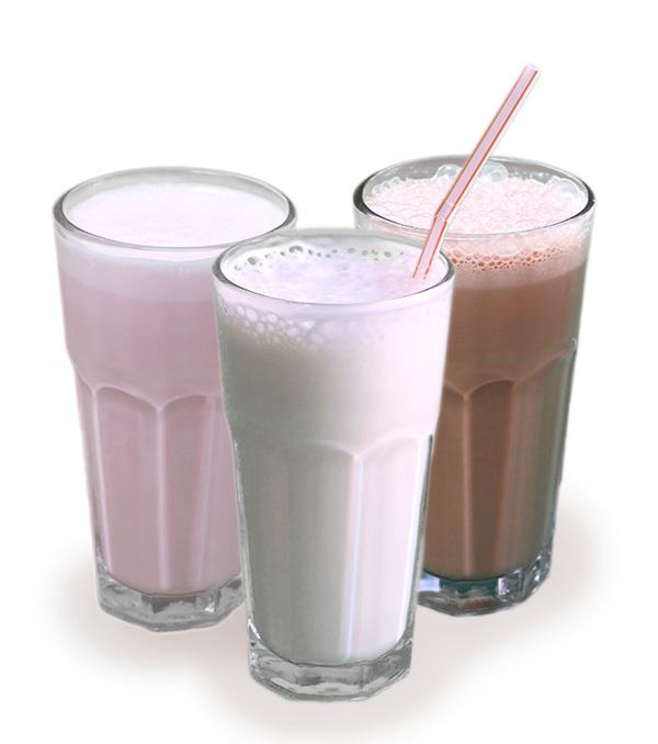 Молочный(ваниль/клубника)